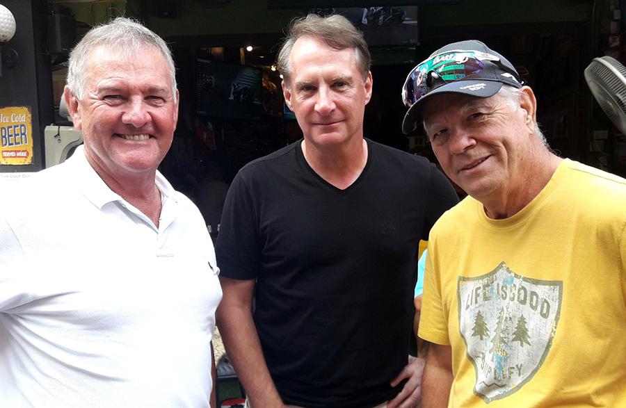 Bill Challton, Bob Mulholland & Alan Rothwell