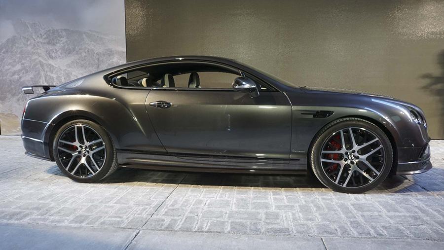 Bentley Continental Supersports.