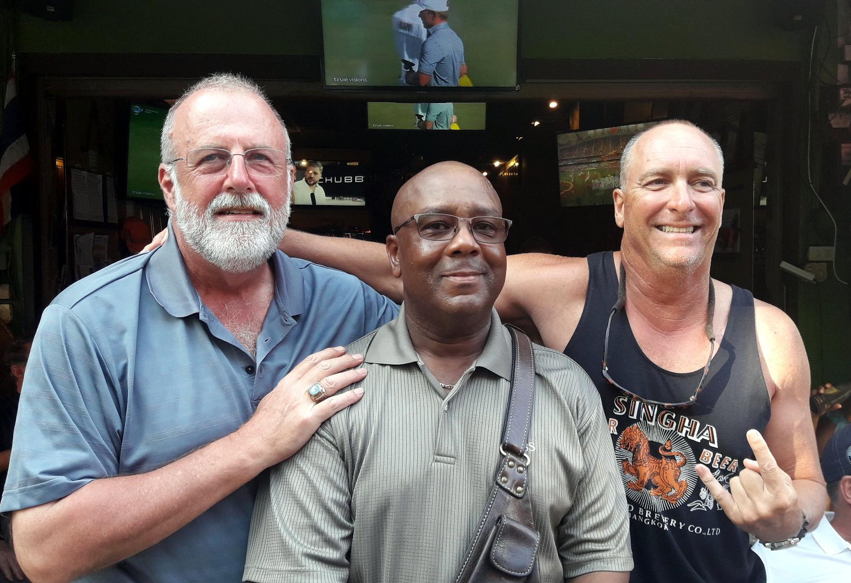 Tom Nettleman, Richard Goodwyn and Doc Beard.
