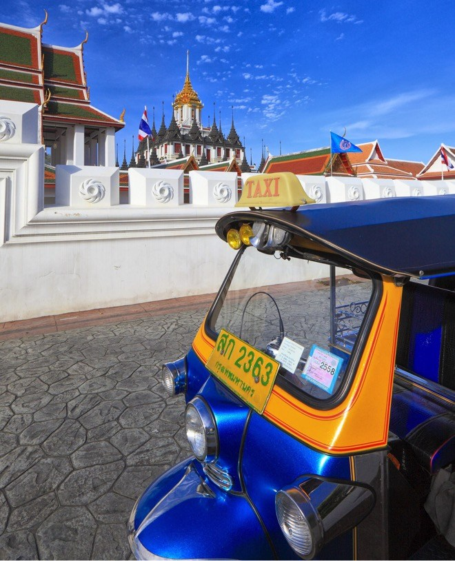 The Bangkok Medley tour will give visitors the chance to see the most famous sights in Bangkok via Tuk-Tuk, including the magnificent Grand Palace.