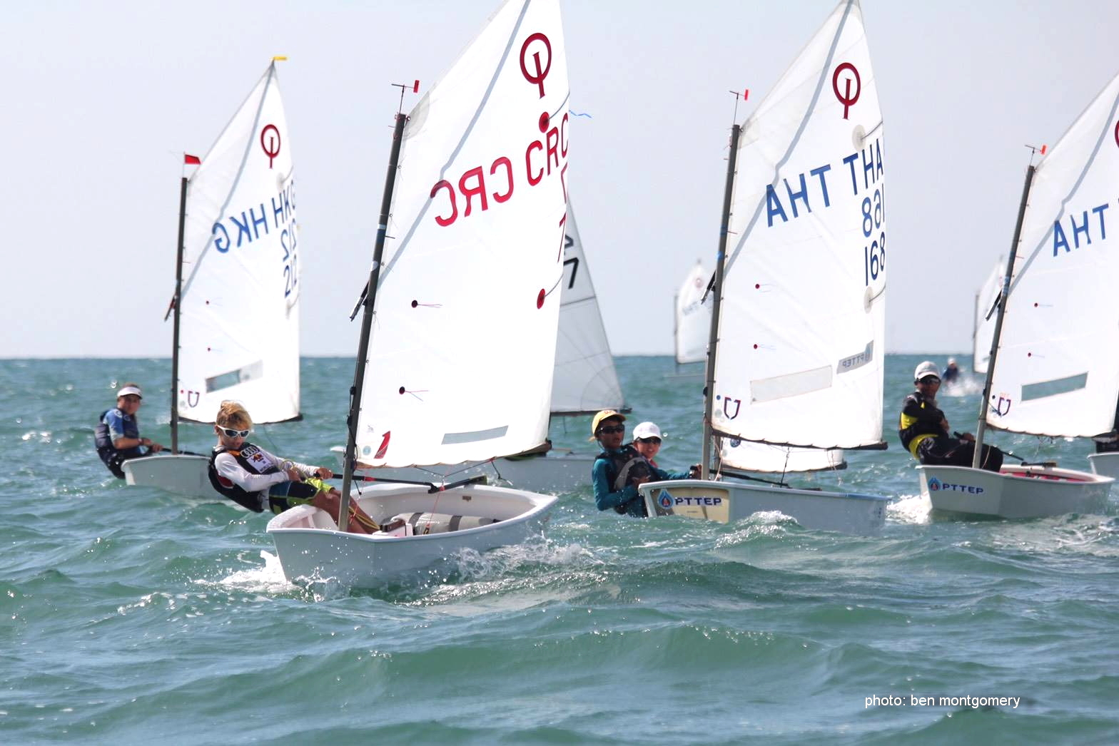 Young sailors from nine countries took part in the Songkran International Regatta held from April 13-16 at Royal Varuna Yacht Club in Pattaya.