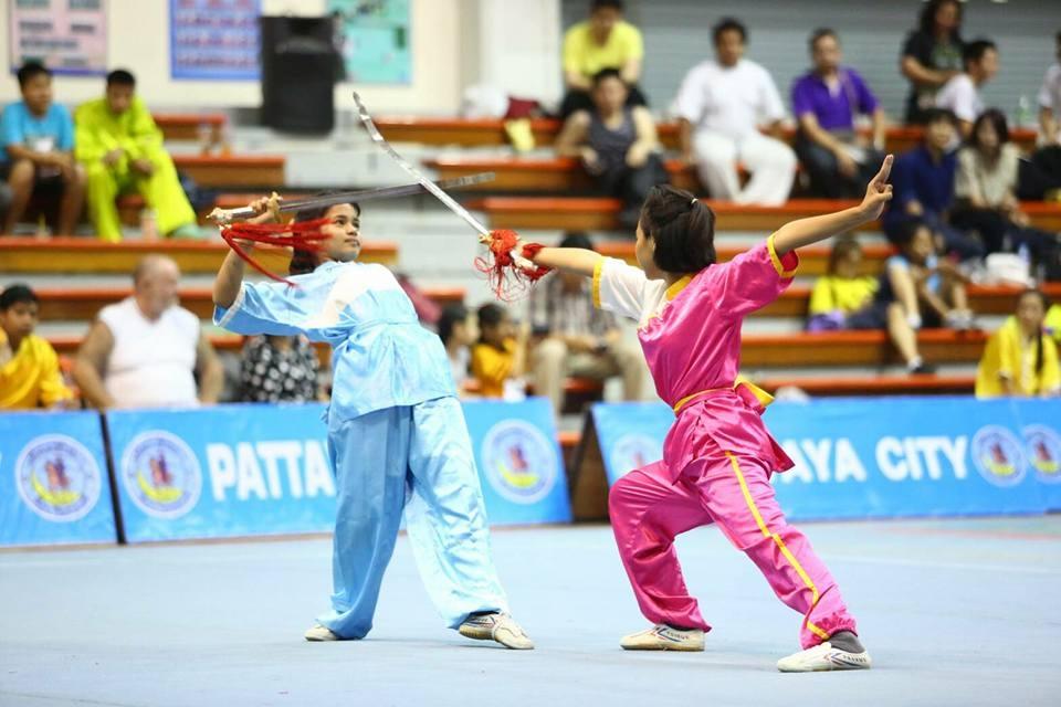 The 15th Wushu Thailand Championship 2017 will be held at Pattaya School No 7 from April 29-30. (Photo/International Wushu Federation)