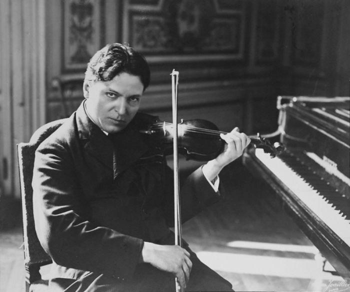 George Enescu in the 1920s.