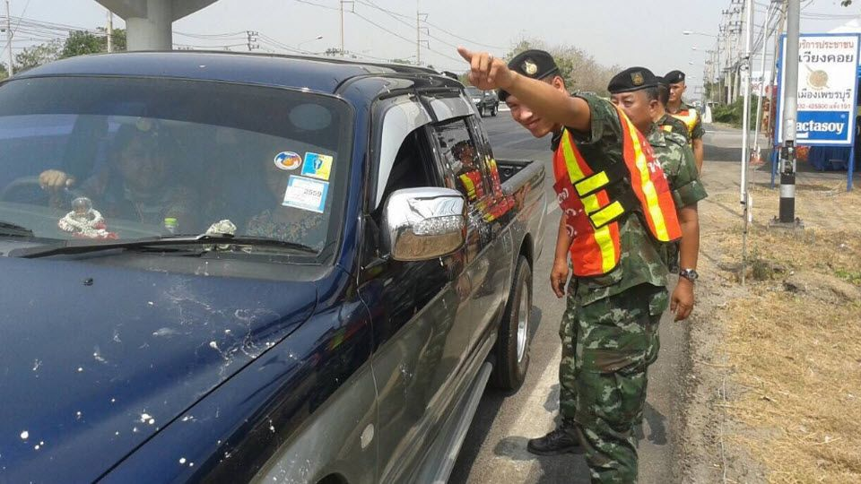 Thailand News - 20-04-17 5 NNT 8,000 vehicles impounded from drunk drivers during Songkran. 1JPG