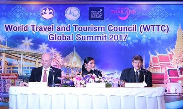 Thailand News - 27-04-17 1 NNT PM opens WTTC 2017 Global Summit. 1JPG