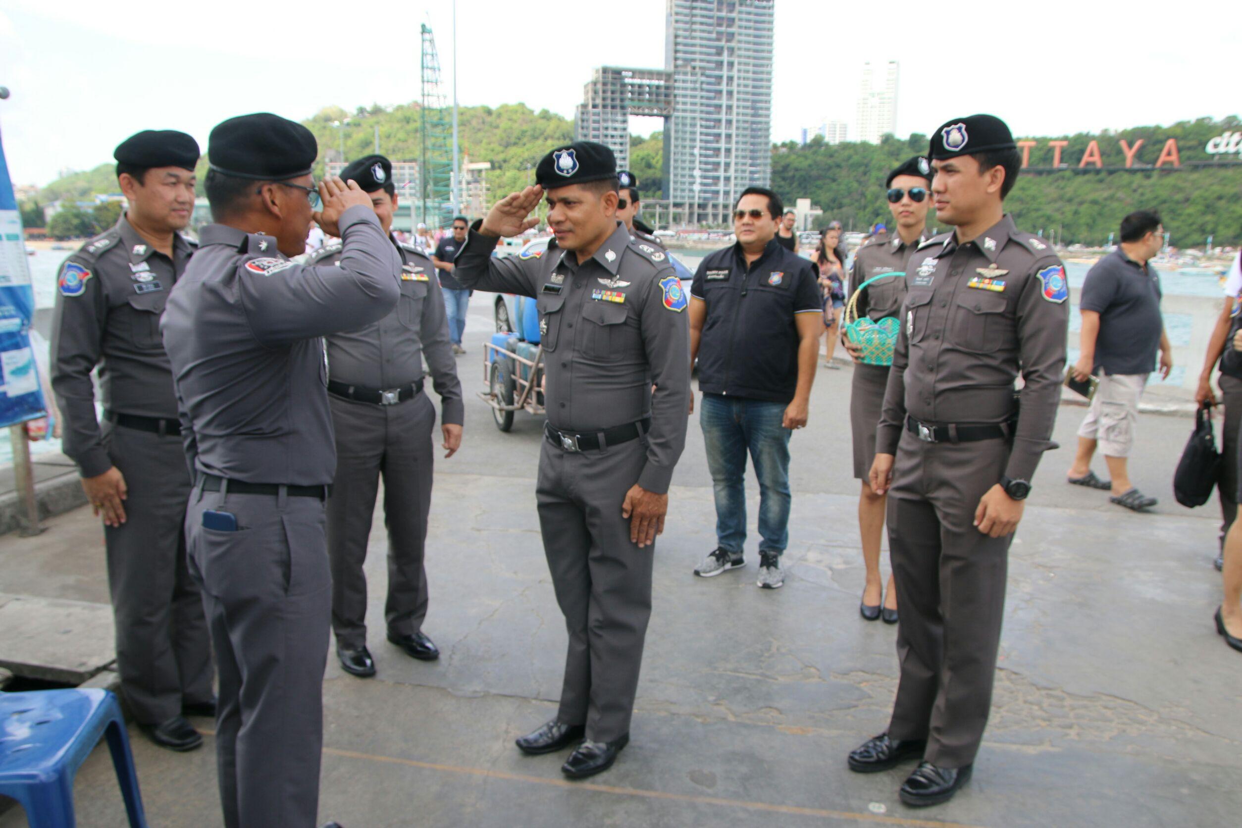 Tourist Police take care for Songkran 1