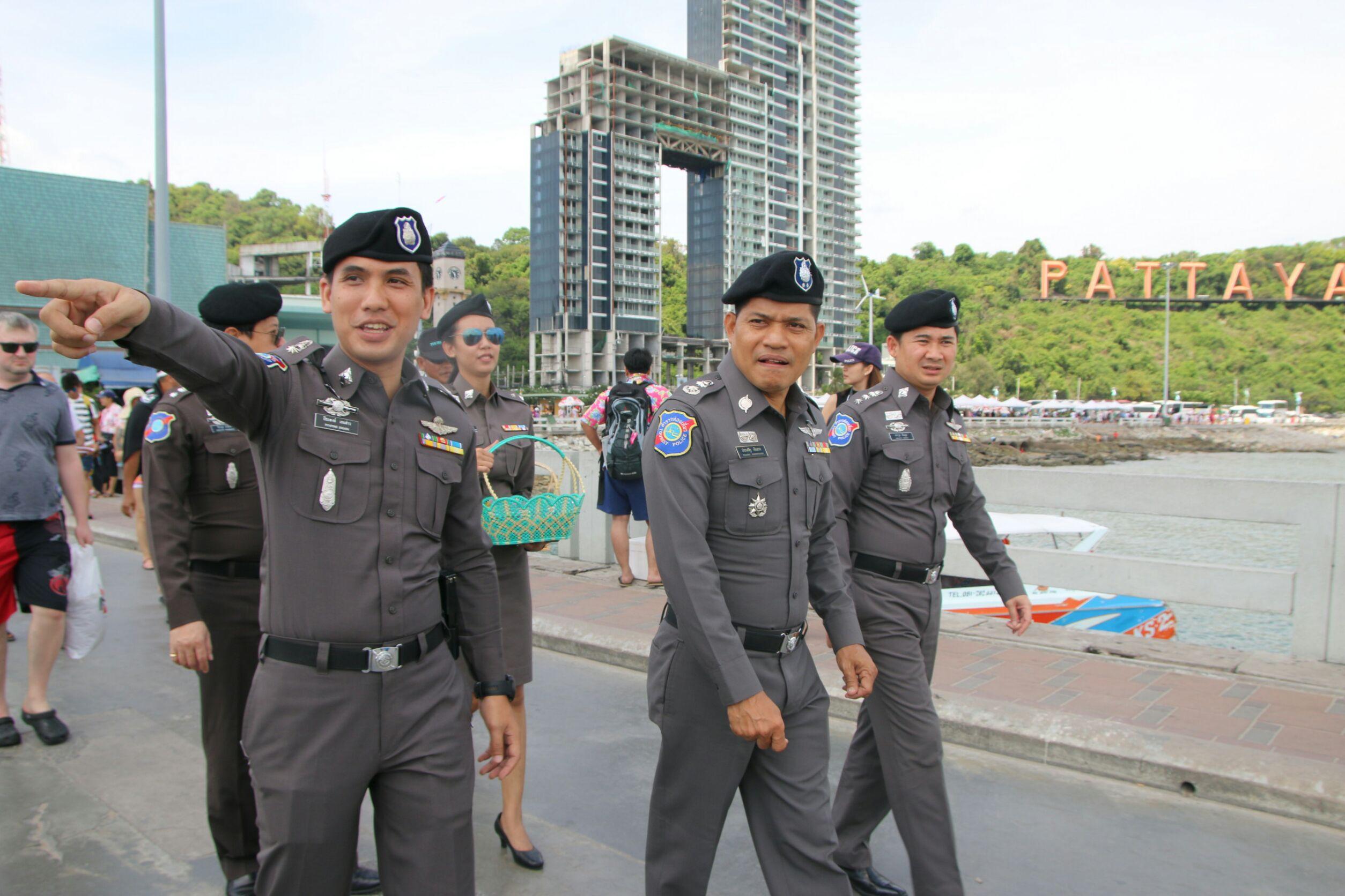 Tourist Police take care for Songkran 2