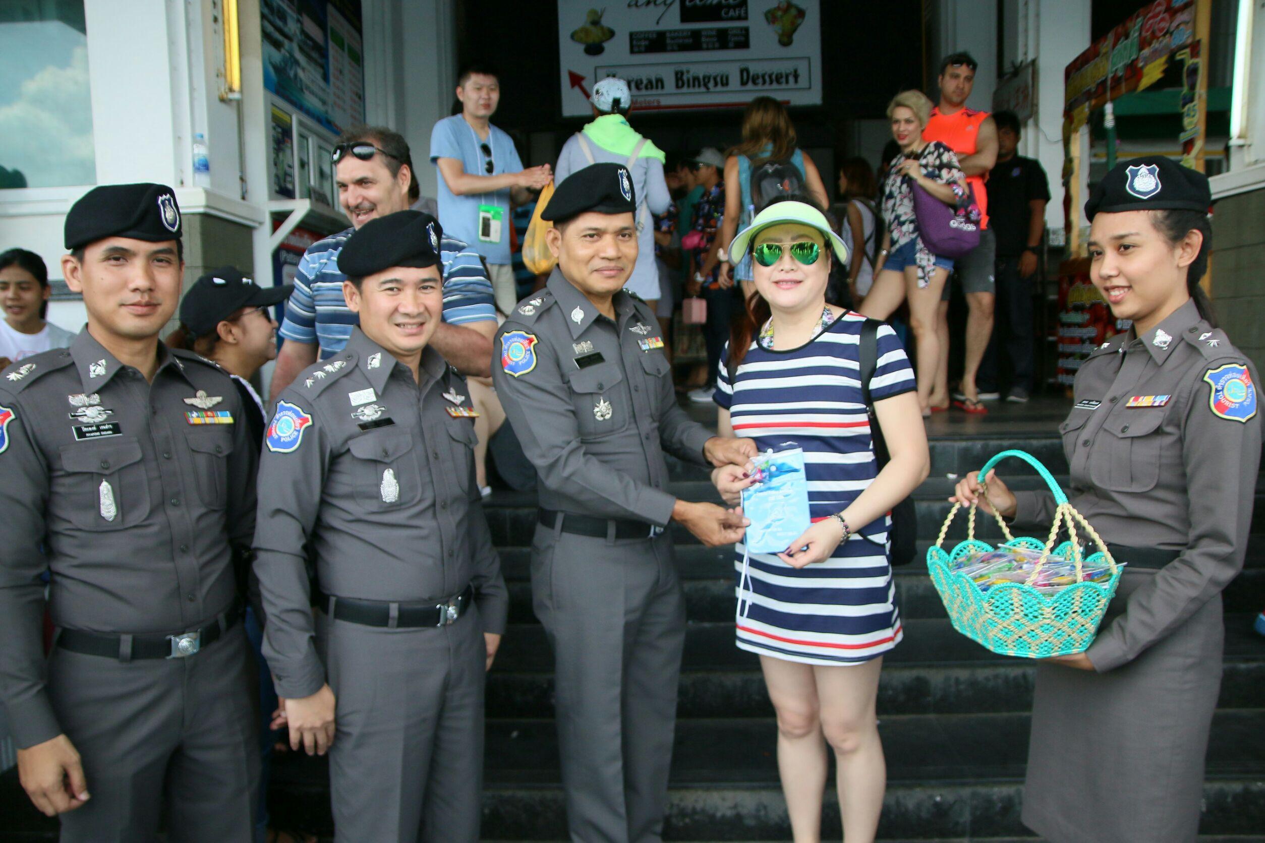 Tourist Police take care for Songkran 3