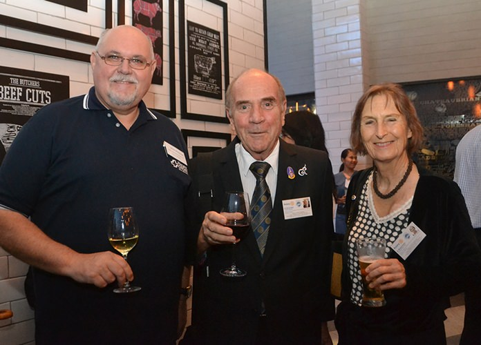 Horst Wiezorrek, Pacific Cross Health Insurance PCL, Dr. Otmar and Margret Deter, Rotary E-Club Dolphin Pattaya International.