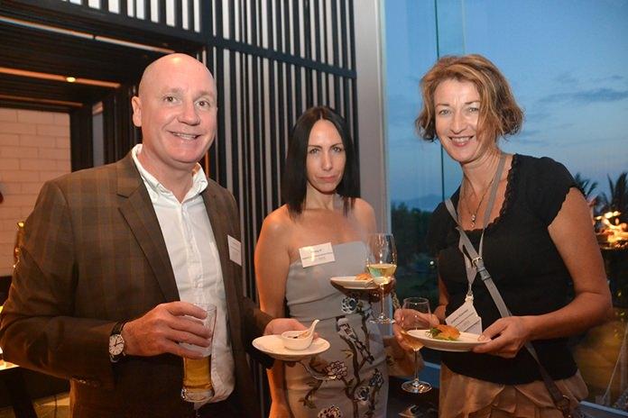 Grant Gillies, Kirsty P. and Joanna Kearney from Regents International school Pattaya.