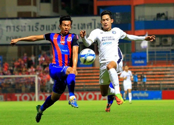Thai Premier League rivals Pattaya United and Port MTI FC clash at the PAT Stadium in Klongtoey, Bangkok, Saturday, May 6. (Photo/Pattaya United FC)