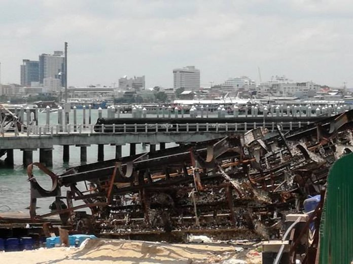Pattaya will spend another 5 million baht to hire another surveyor to appraise the damage and prospects for repair of the Bali Hai marina.