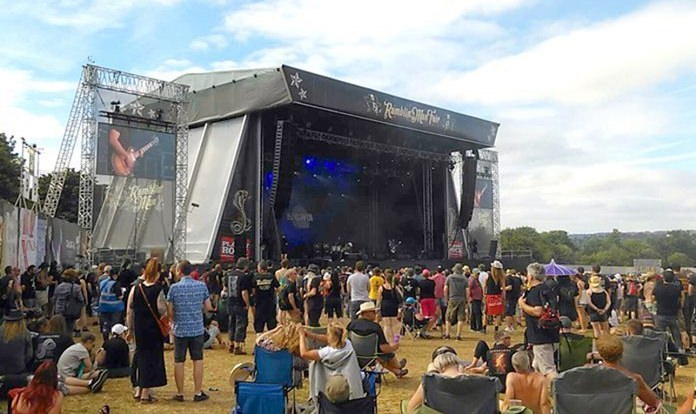 Crowds gather at the Classic Rock stage at Ramblin' Man 2016. (Photo/Colin Mottman Powell).