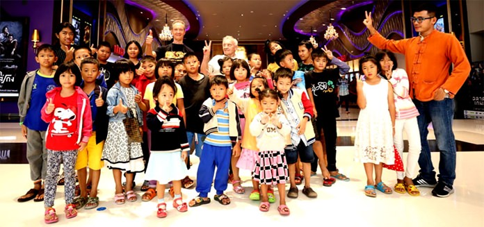 Jesters Care for kids combined with the Jackalope Canadian Golf Club gave the Children of the Camillian Social Center Rayong a fun day out in Rayong.