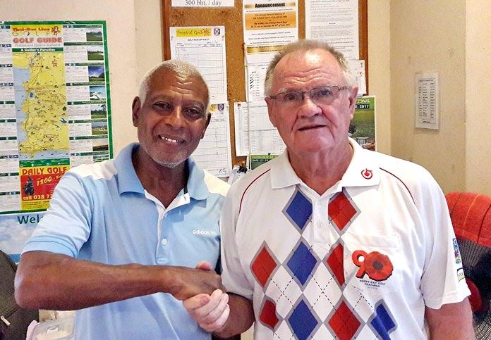 Landis Brooks (left) and Derek Brook.