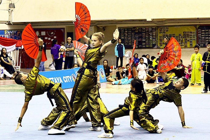 The 15th Pattaya Wushu Thailand Championships brought a spectacle of colour, dance and martial art skill to the city.