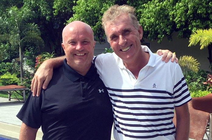 Dave Smith & Neil Harvey.