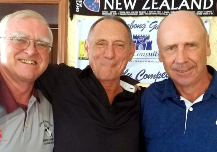 From left: Tony Oakes, Bill Marsden and George Barrie.