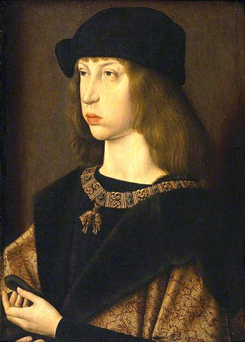 The young King Philip I.