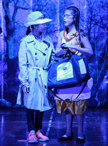 Great costumes, sets and singing made up the Primary production of Porridge.