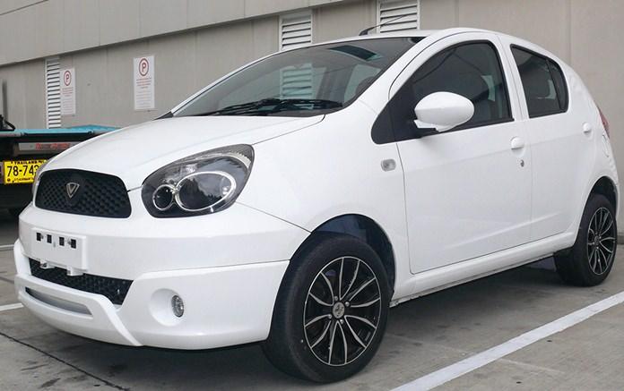 Complete Vera car.