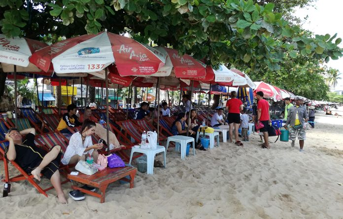 Pattaya has confirmed new rules for beach chair vendors that will see them kicked off the sand two days a week and confined to smaller spaces the rest of the time.