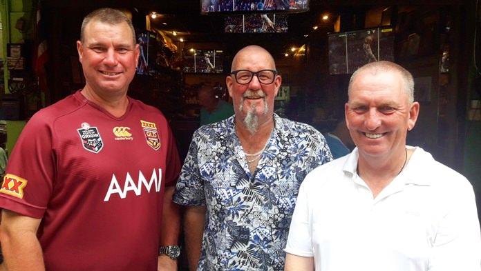 Troy Haack, Gavin Wright and Ian Brimble back at TGC.