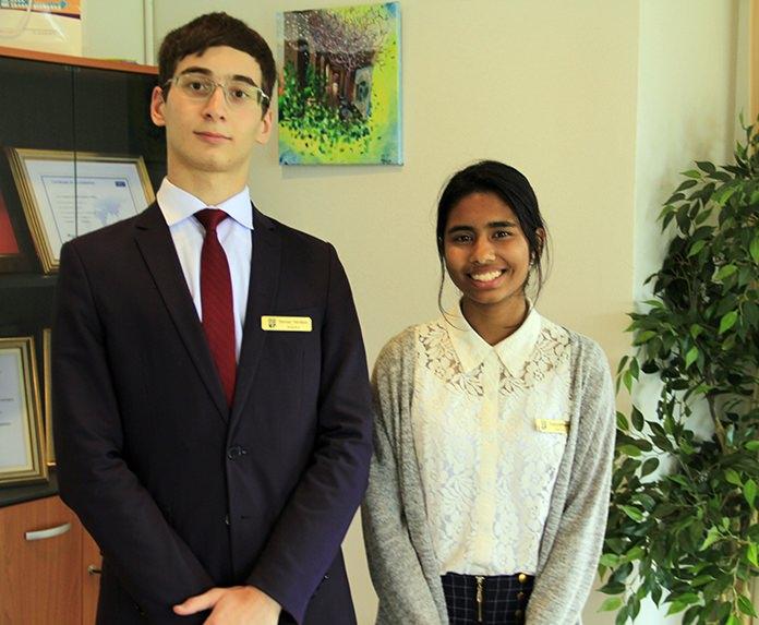 Osman Tatrokov and Saliha Rehanaz will be traveling to the UN in New York City.