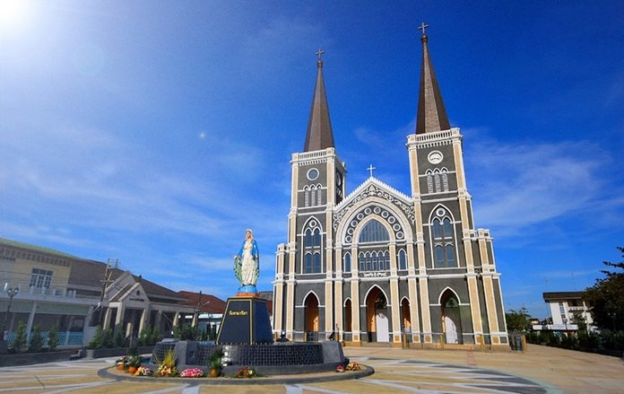 Cathedral of the Immaculate Conception Chanthaburi.