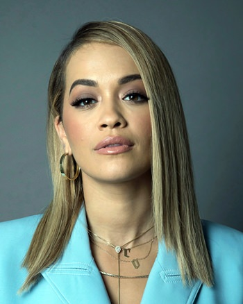 Actress and singer Rita Ora. (Photo by Amy Sussman/Invision/AP)