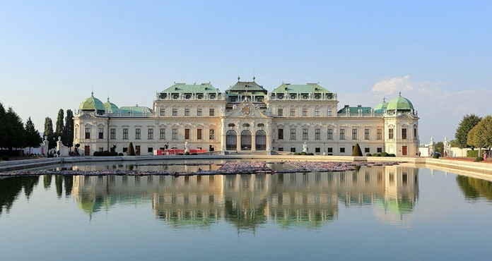 It's not much, but it's home. The baroque Upper Belvedere Palace, Vienna (Photo/Martin Falbisoner)