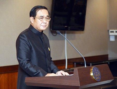Prime Minister Gen Prayut Chan-ocha.