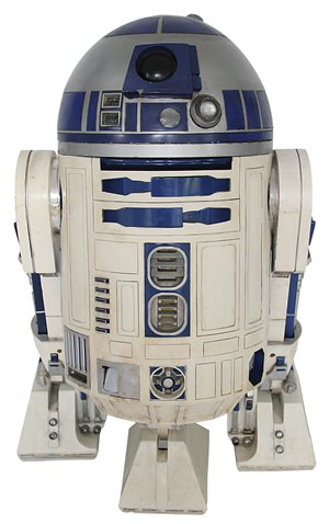 This R2-D2 used in the first five Star Wars movies sold at auction for $2.6 million last week. (Profiles in History via AP)