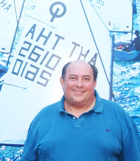 Tom Whitcraft, President of the organizing committee for the Optimist World Championship 2017.