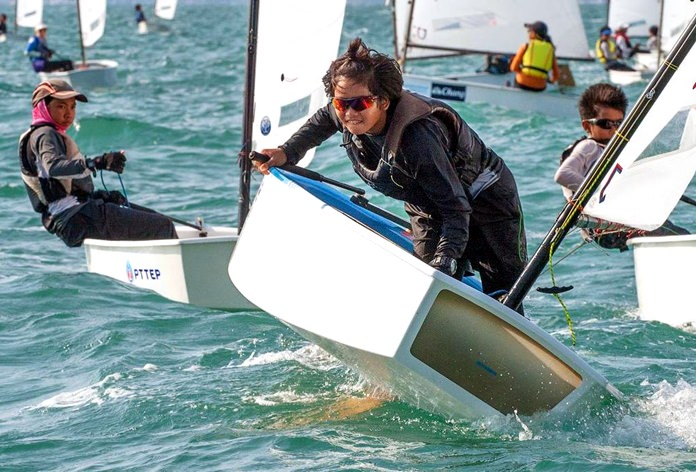 The Optimist World Championship 2017 will take place in Pattaya from 11-21 July. (Photo/Guy Nowell)
