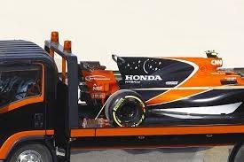 Honda engined F1 car doing a fast lap.