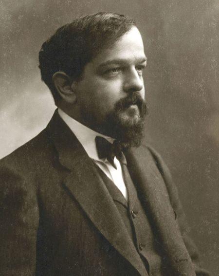 Claude Debussy in 1908. (Photo/Félix Nadar)