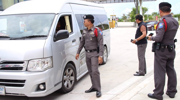 Another illegal tour guide was arrested as tourist and highway police continued their crackdown.