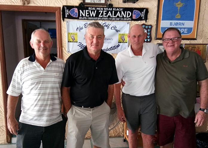 Brett Gale, Rick Culley, Lloyd Shuttleworth and Chris Dodd.