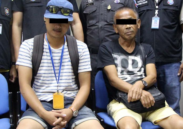 Chaitoon Sroisaeng and Liu Longzhe have been charged with assault, and Chaitoon for working illegally as a guide.