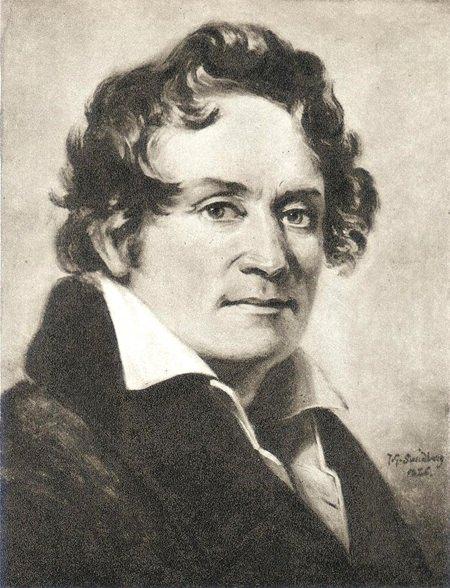 Bernhard Henrik Crusell (by Johan Gustaf Sandberg, 1826)