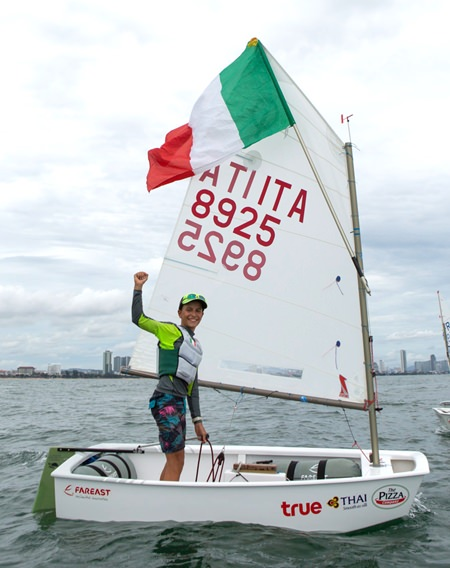 Marco Gradoni of Italy was crowned individual world Optimist champion 2017.