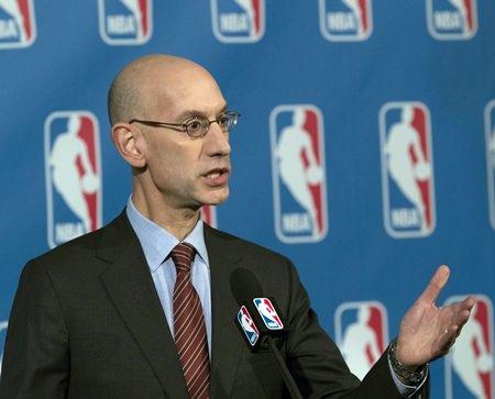 NBA Commissioner Adam Silver. (AP Photo/Mary Altaffer)