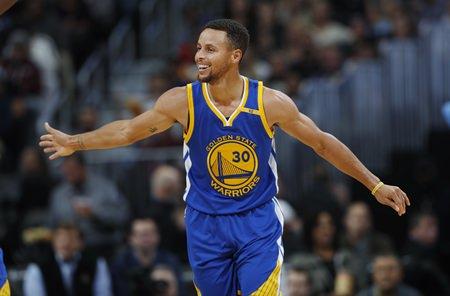 Golden State Warriors guard Stephen Curry. (AP Photo/David Zalubowski)