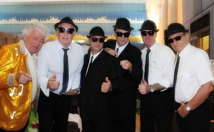 The Blues Brothers and pals.