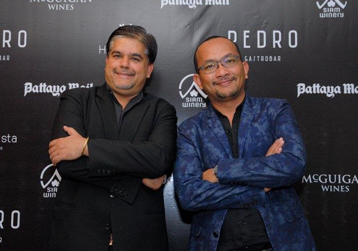 Tony Malhotra, EAM for Hotel Vista and Apichet Pongsupun, a.k.a. 'Tui Rayong' Section Manager Indorama Petrochem Ltd.