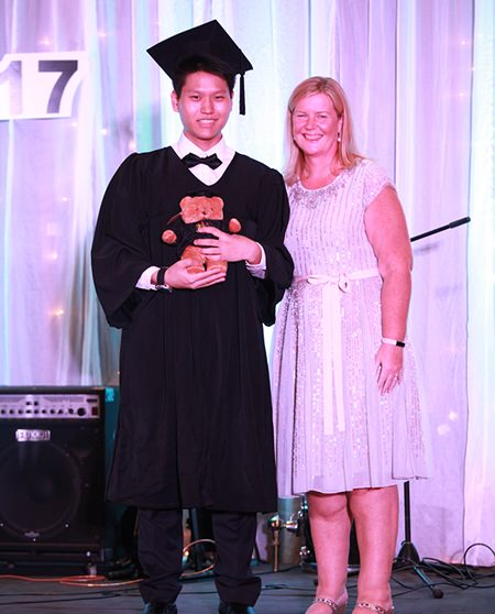 Star student Jun Beom was one of the top 1 percent of worldwide students.