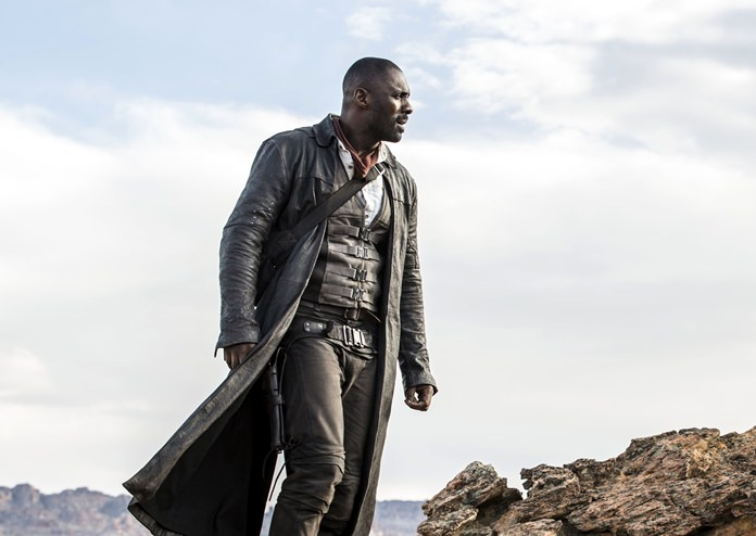 "This image shows Idris Elba in the Columbia Pictures film, ""The Dark Tower."" (Ilze Kitshoff/Columbia Pictures/Sony via AP)"