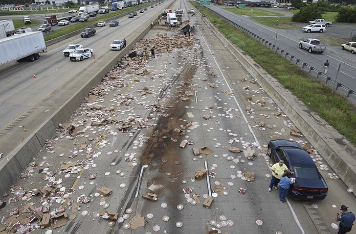 (Rusty Hubbard/Arkansas Department of Transportation via AP)
