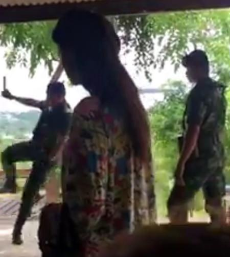 Pattaya's police chief downplayed the beating of a drug suspect at the hands of soldiers, claiming the attack captured on a viral video wasn't that serious.